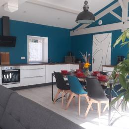 Cuisine et pièce de vie de 55 m² - Location de vacances - Pornic