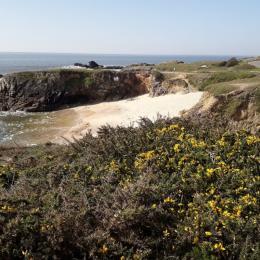 plage des Sables Menus à environ 300m du gîte - Location de vacances - Le Croisic