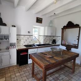 La cuisine  - Location de vacances - Petit-Auverné