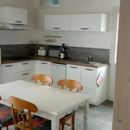 coin cuisine - Location de vacances - Mesquer Quimiac