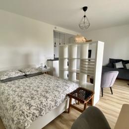 Pièce de vie de 25 m² avec cuisine - Location de vacances - Nantes
