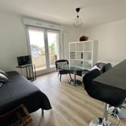 Salon et mange debout côté cuisine - Location de vacances - Nantes