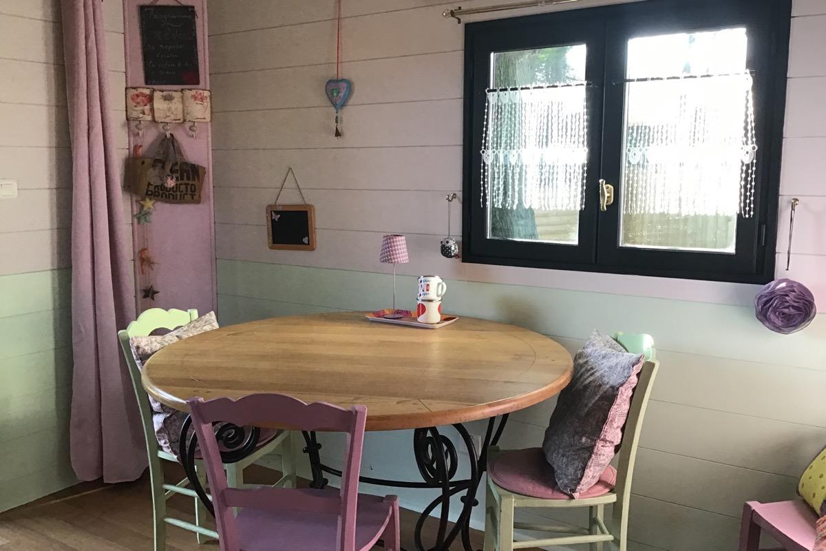 Tout le confort pour votre séjourLa roulotte « la bohème de cocagne» - Chambre d'hôtes - Saint-Michel-Chef-Chef