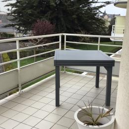 Balcon terrasse  - Location de vacances - Le Pouliguen