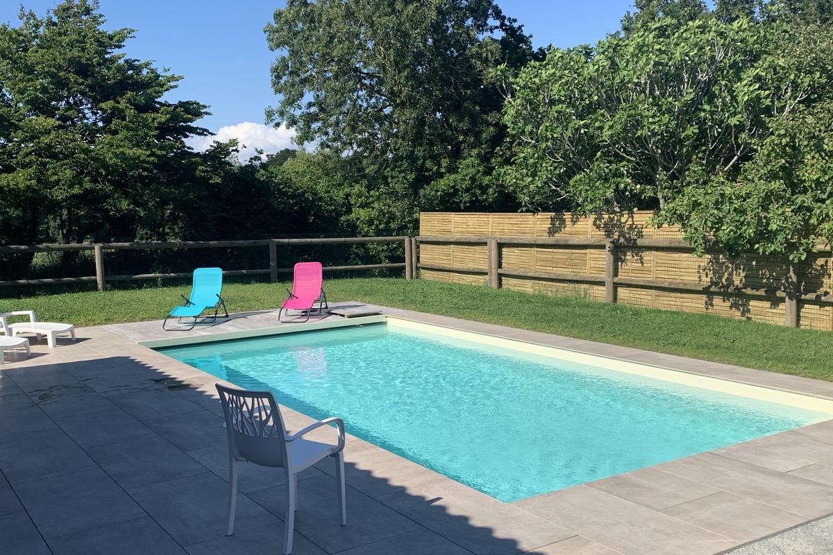 Espace piscine - Location de vacances - Saint-Michel-Chef-Chef