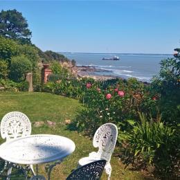 location vue mer-jardin - Location de vacances - Saint-Nazaire