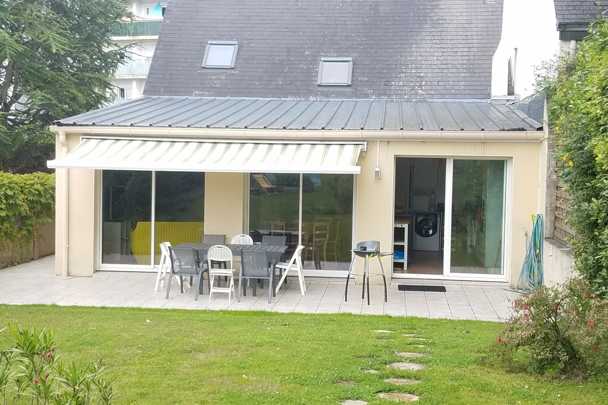 repas en terrasse  - Location de vacances - Saint-Nazaire