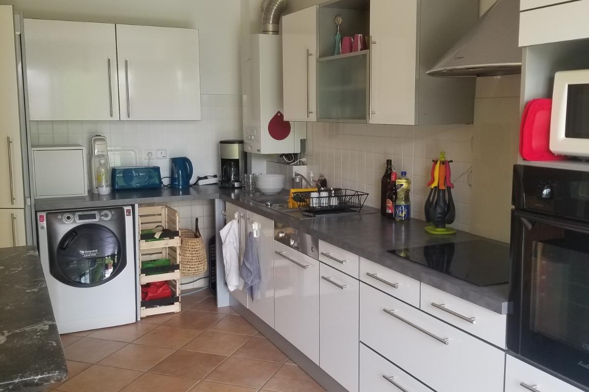 maison bord de mer, la cuisine kitchen - Location de vacances - Saint-Nazaire