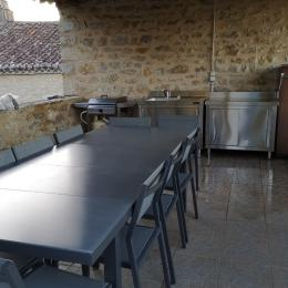 cuisine intégrée bien équipée - Location de vacances - Aujols