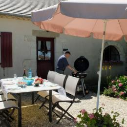 Gîte côté terrain - Location de vacances - Loupiac
