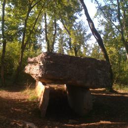 Dolmen tout proche - Location de vacances - Lugagnac