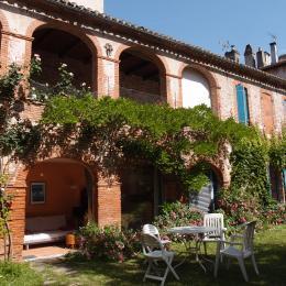 Vue du jardin - Location de vacances - Cahors