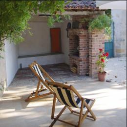 Le barbecue - Location de vacances - Albas