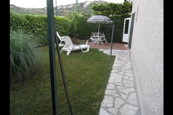 Terrasse vue 02 - Location de vacances - Cajarc