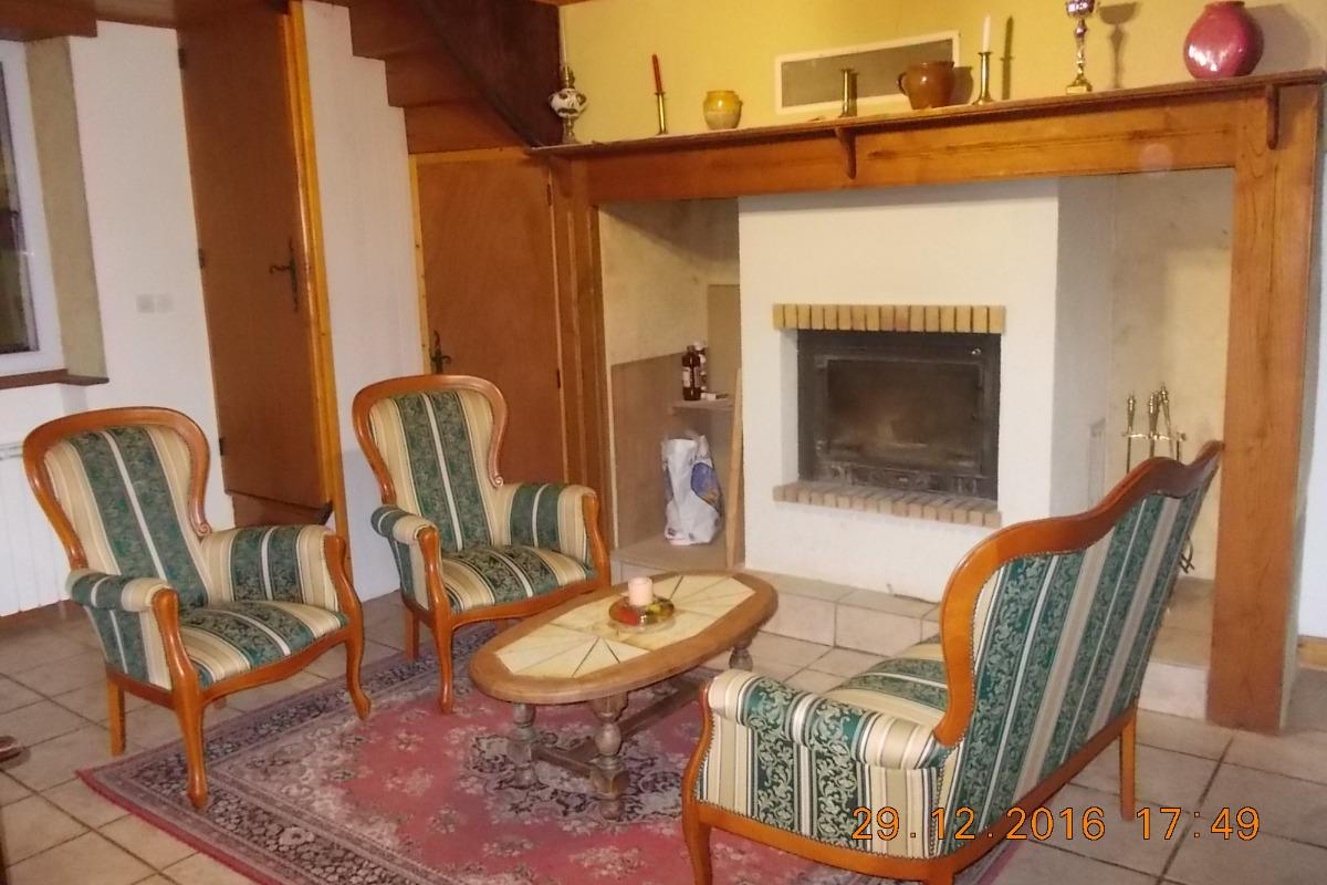 Salon - Location de vacances - Gourdon