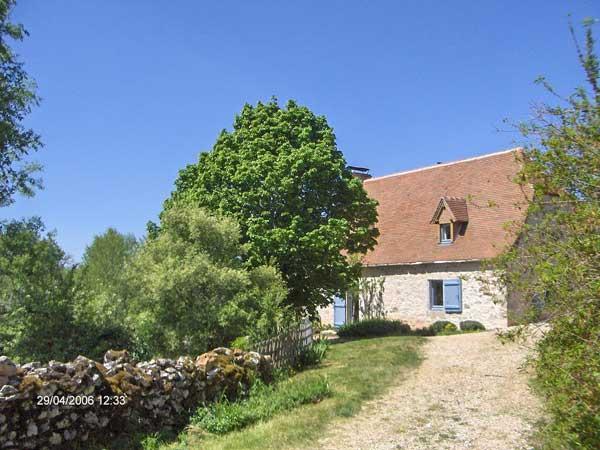 Arrivee au Lac de Blars - Arrival in the Lac de Blars - Location de vacances - Sénaillac-Lauzès