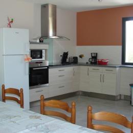 cuisine /séjour /salon  - Location de vacances - Lacave