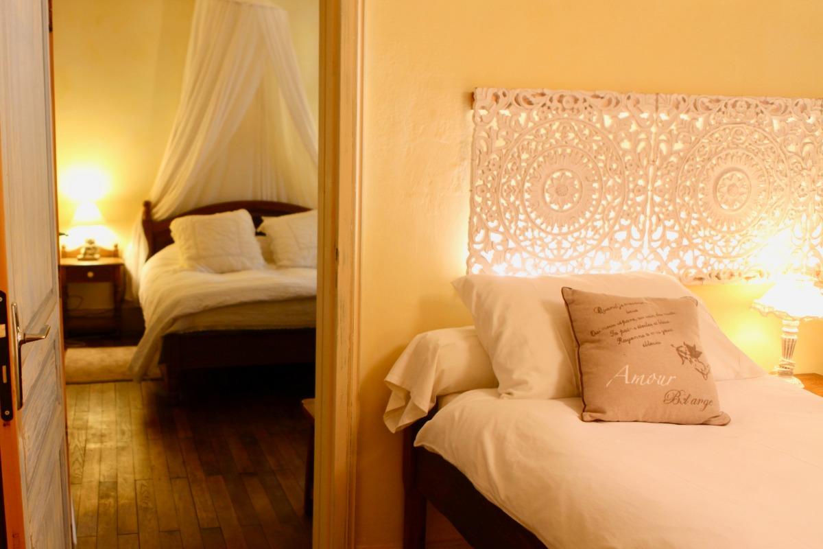 2 - Suite ACHAIAH - Une suite spacieuse, côté jardin , 2 ...