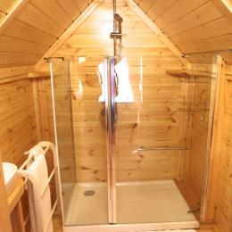 Salle d'eau - Chambre d'hôtes - Mercuès