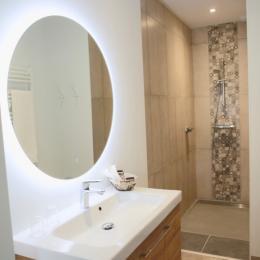 Salle de bain - Chambre d'hôtes - Mercuès