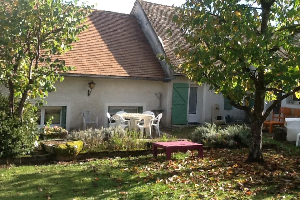vue jardin - Location de vacances - Carlucet