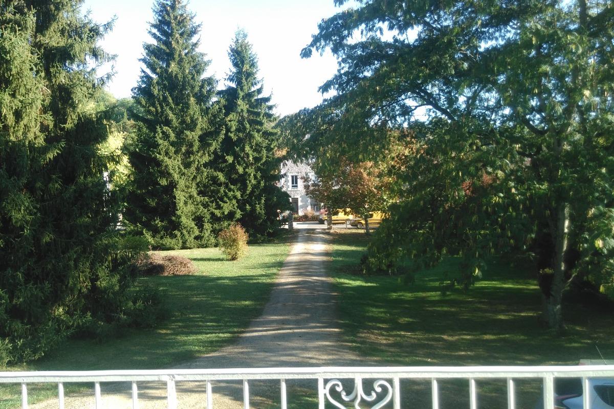 Vue depuis la chambre - Chambre d'hôtes - Saint-Sozy