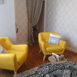 Le salon - Chambre d'hôtes - Saint-Sozy