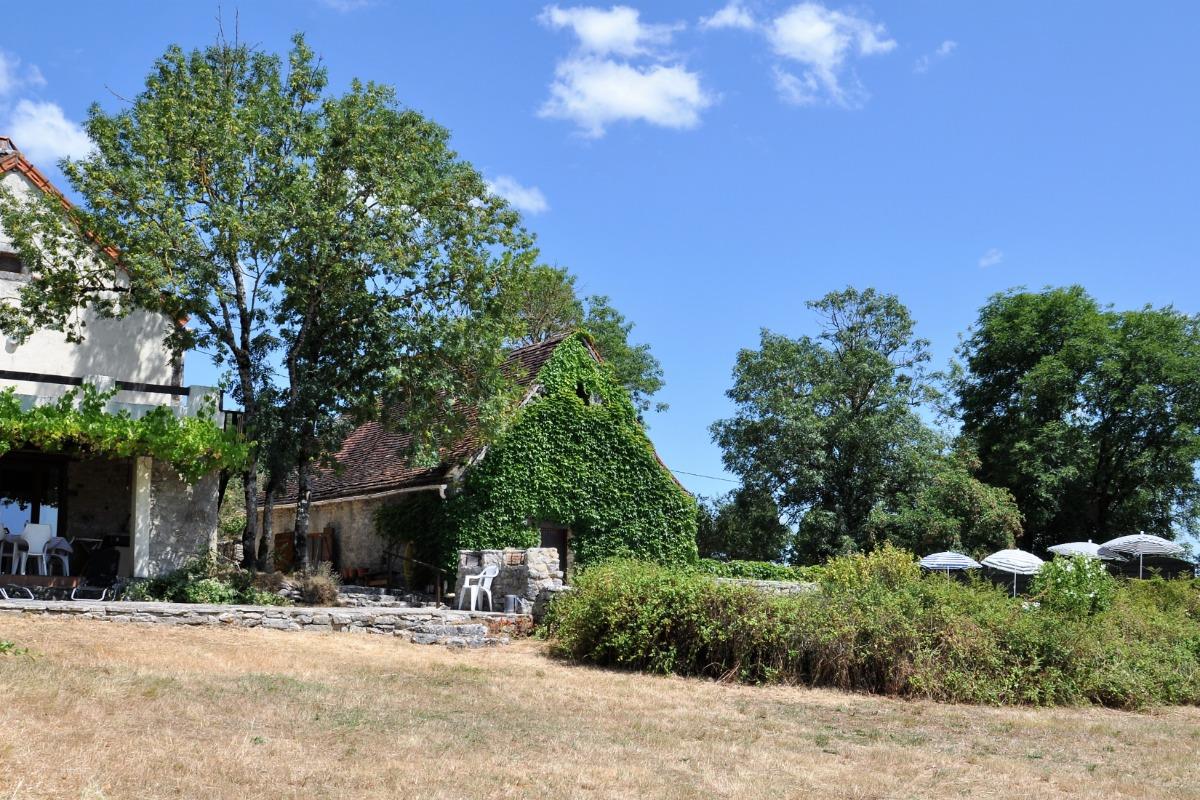 Grand gite de charme avec piscine privative dans le Lot - La maison - Location de vacances - Ginouillac