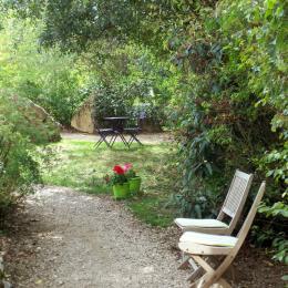 Le parc, espace naturel et préservé -  Accès direct et privatif Suite Cassiopée - Chambre d'hôtes - Espédaillac