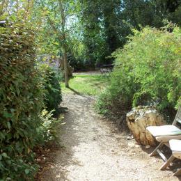 Suite Andromède - Accès direct de plain-pied au jardin et à la piscine. - Chambre d'hôtes - Espédaillac