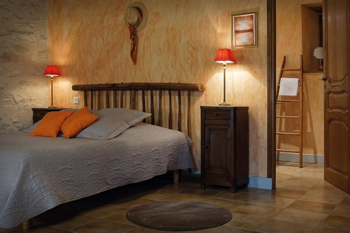 Maison d'hôtes de charme : Chambre Voie Lactée  - Chambre d'hôtes - Espédaillac