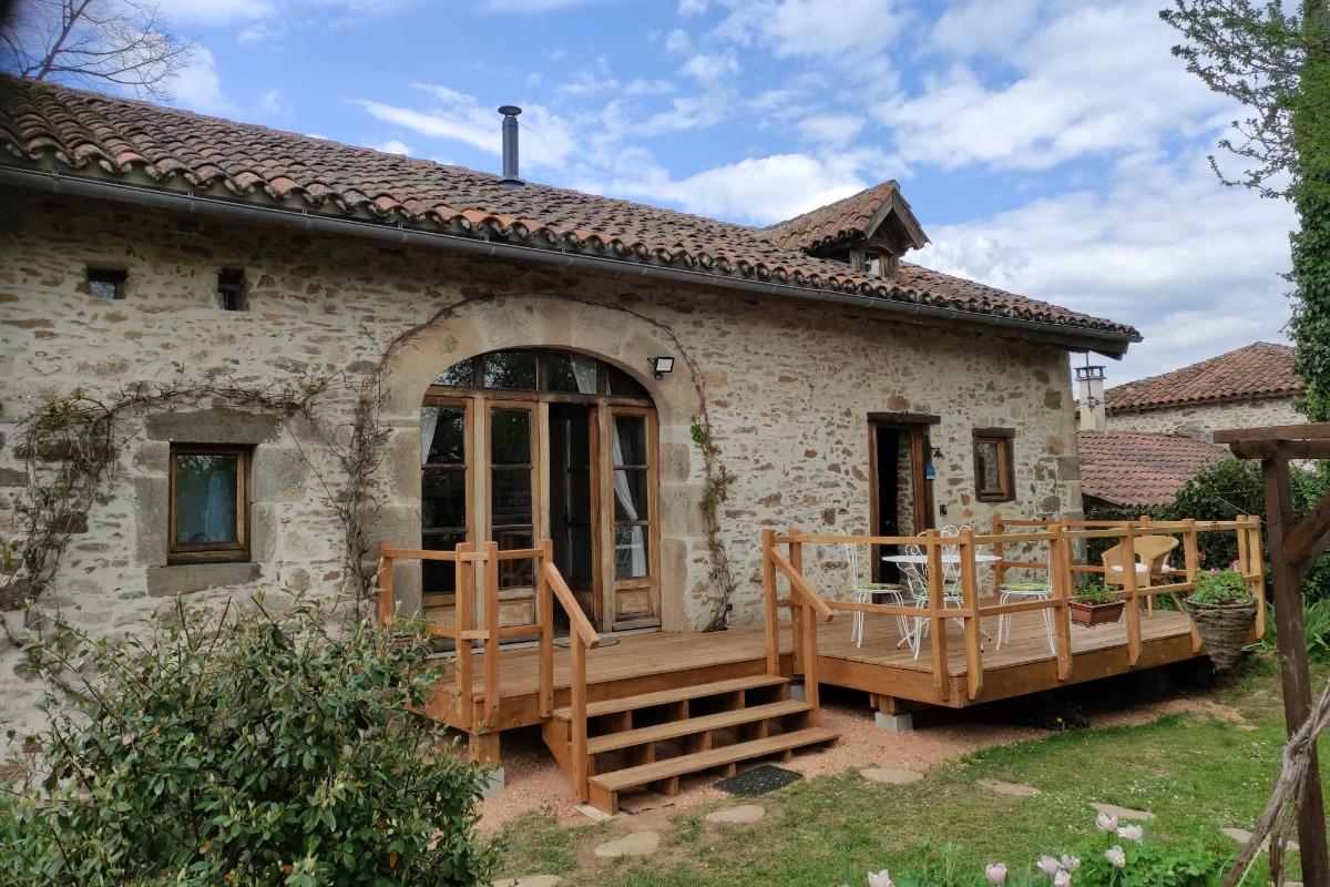 La façade - Location de vacances - Saint-Cirgues