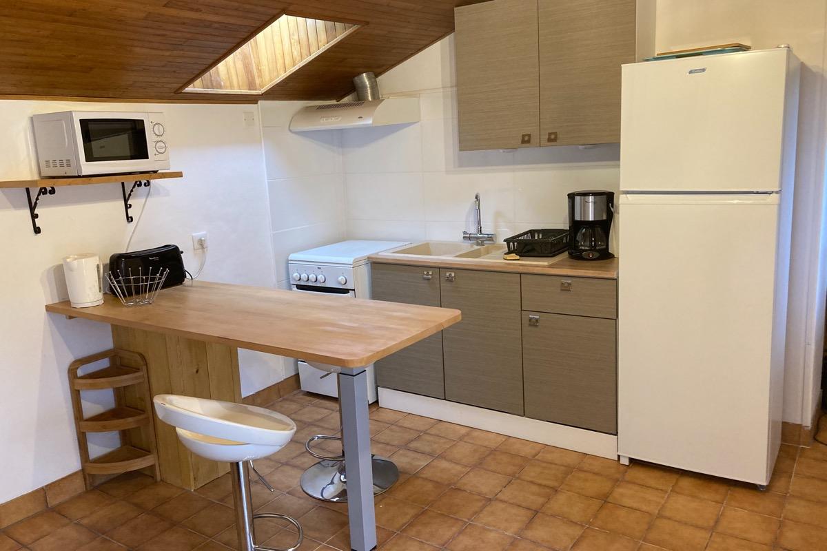 La cuisine - Location de vacances - Payrignac