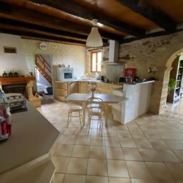 La cuisine - Location de vacances - Saint-Cirq-Madelon