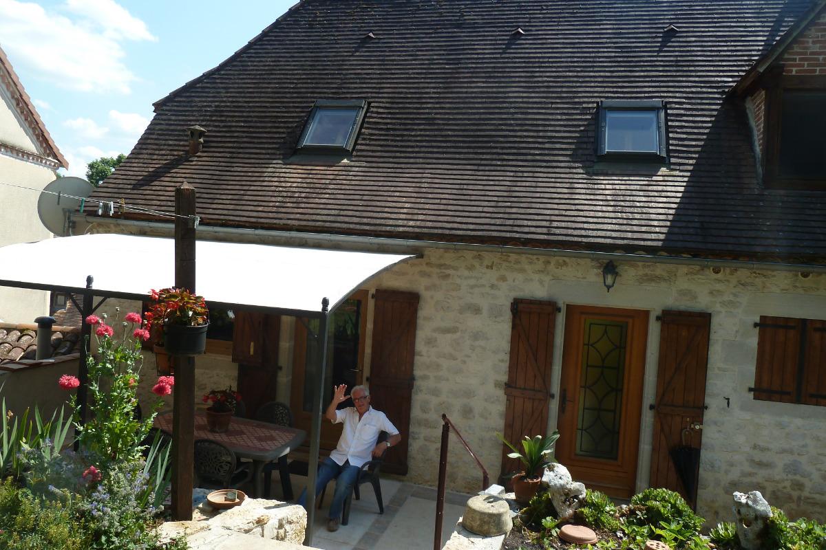 Salon de jardin - Location de vacances - Sabadel-Lauzès
