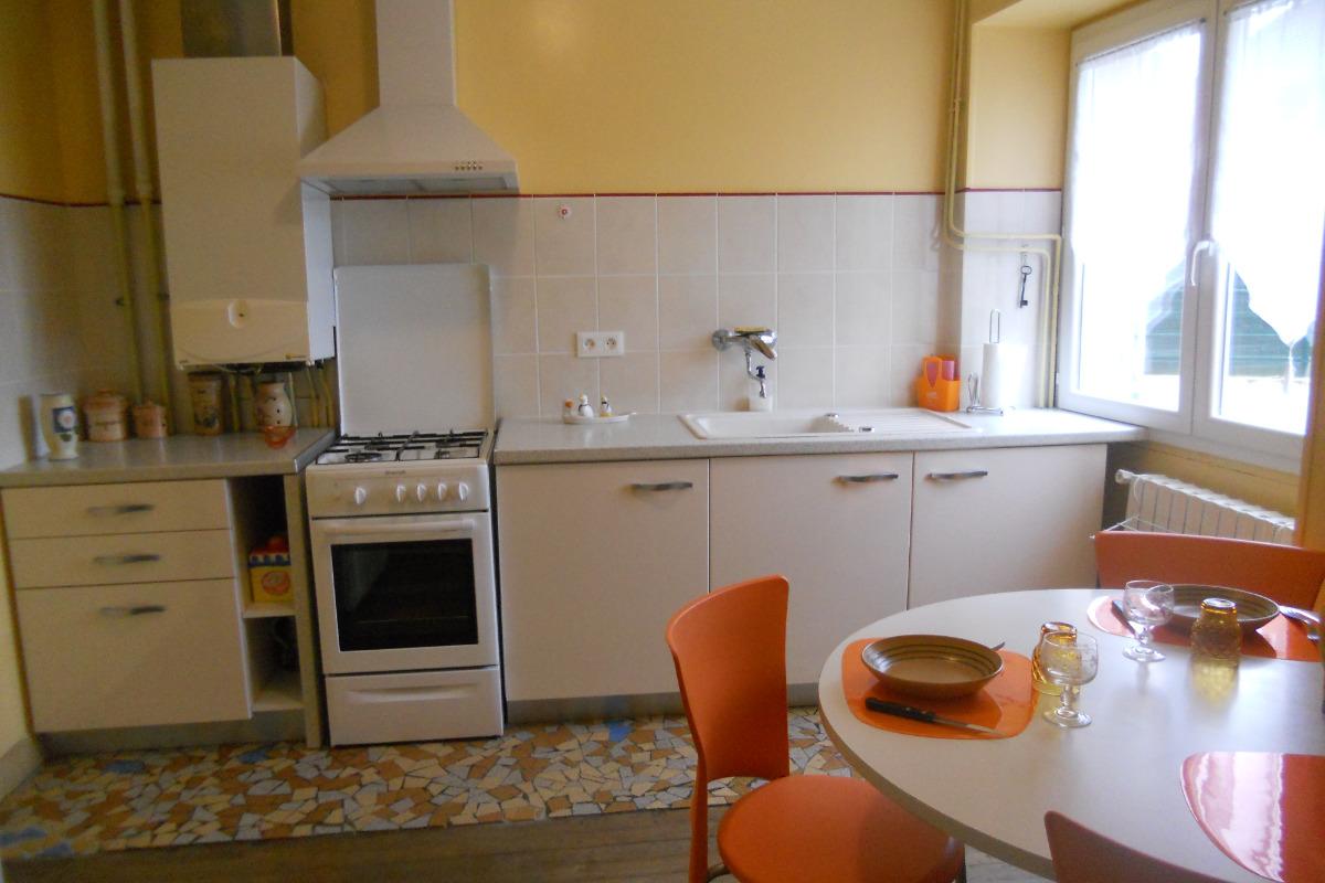 la cuisine - Location de vacances - Souillac