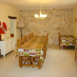 La salle à manger - Location de vacances - Thézac