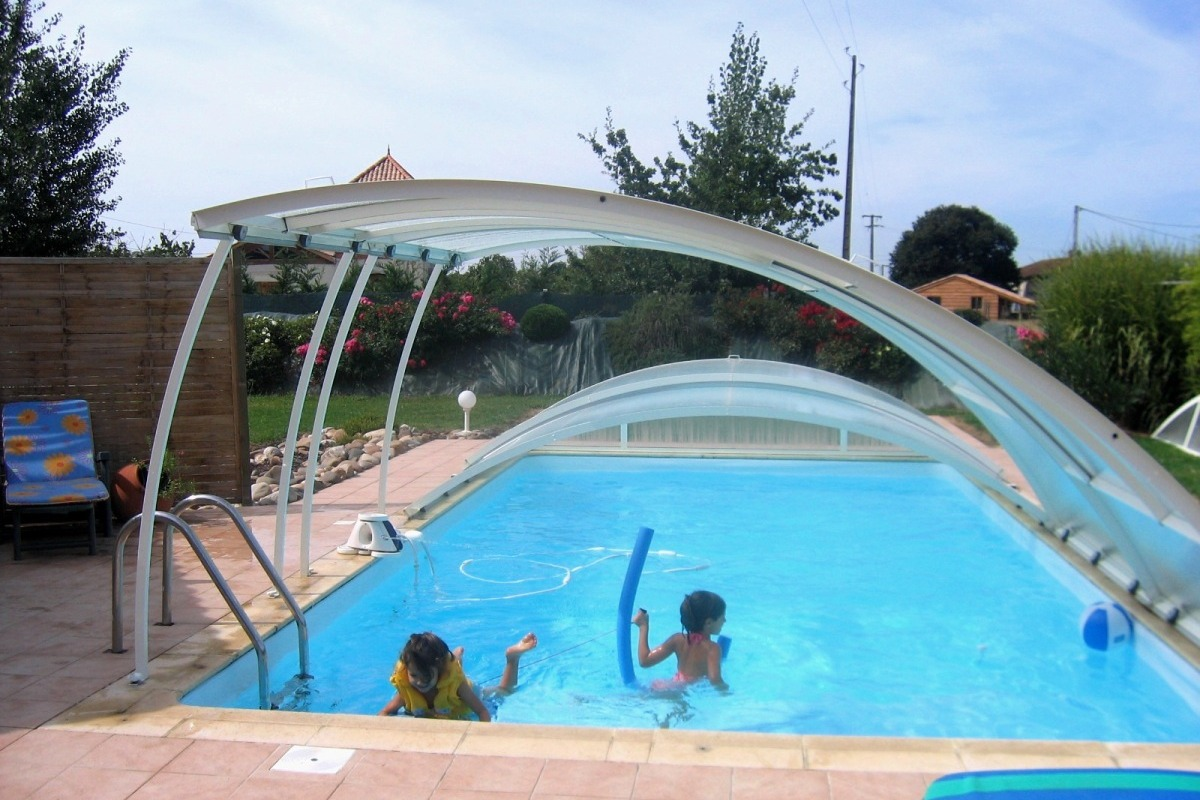 La beaugère côté piscine - Location de vacances - Le Temple-sur-Lot
