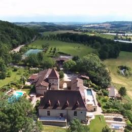 Missandre vu du ciel - Location de vacances - Pinel-Hauterive