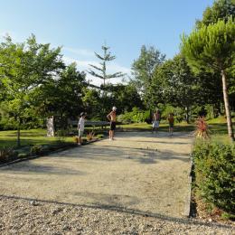 Le boulodrome - Location de vacances - Pinel-Hauterive