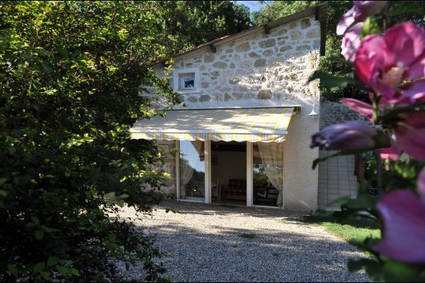 la façade - Location de vacances - Clermont-Dessous
