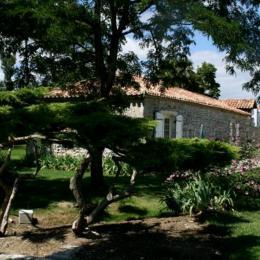 Terrasse gîte - Location de vacances - Vianne