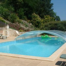 la piscine  - Location de vacances - Loubès-Bernac