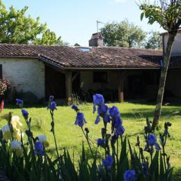 vue de la pelouse - Location de vacances - Loubès-Bernac