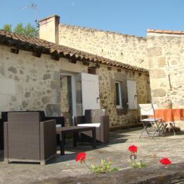 terrasse privative - Chambre d'hôtes - Mézin