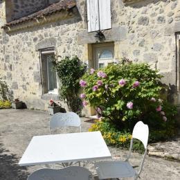 terrasse privée - Chambre d'hôtes - Mézin