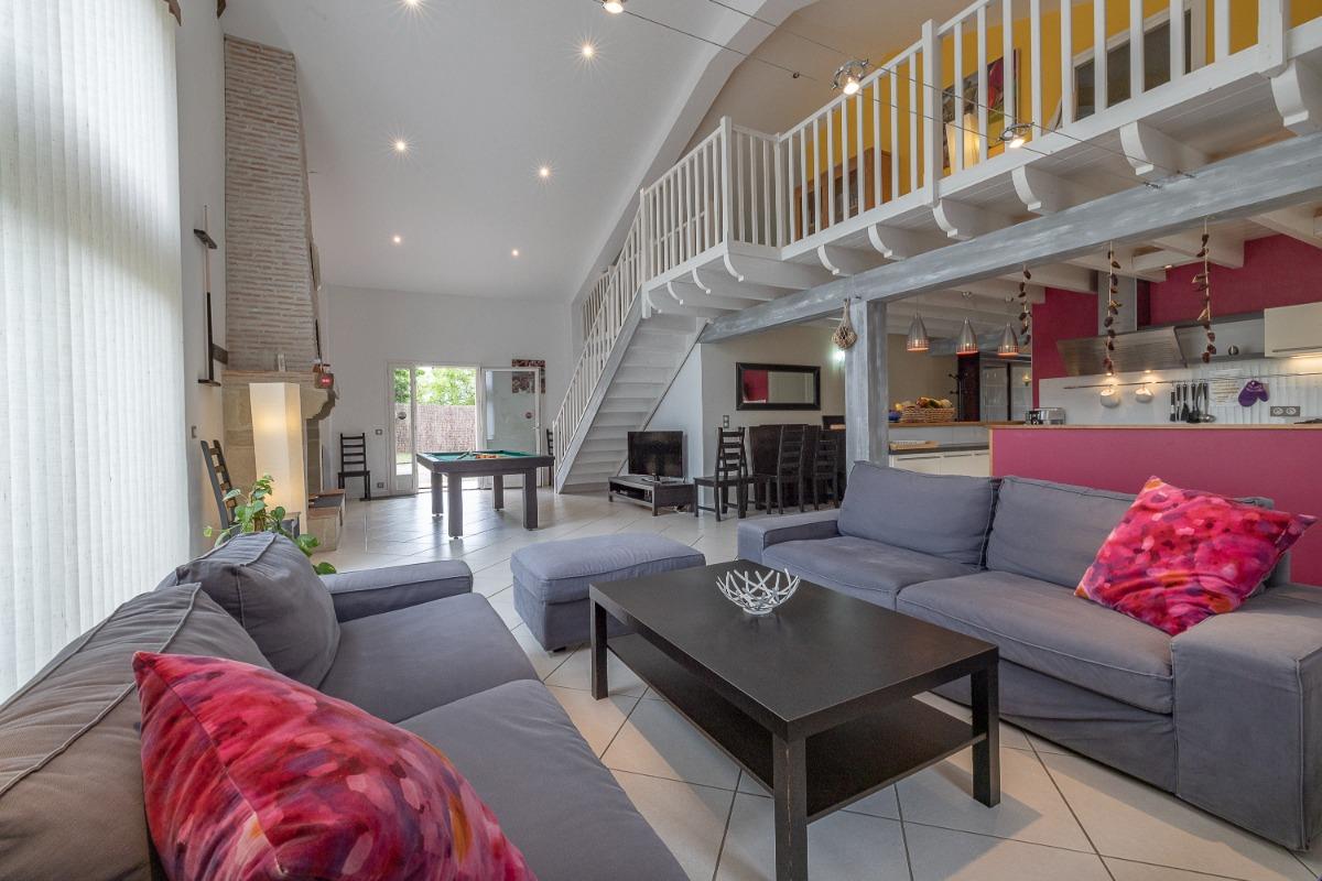La poolhouse - Location de vacances - Lavergne