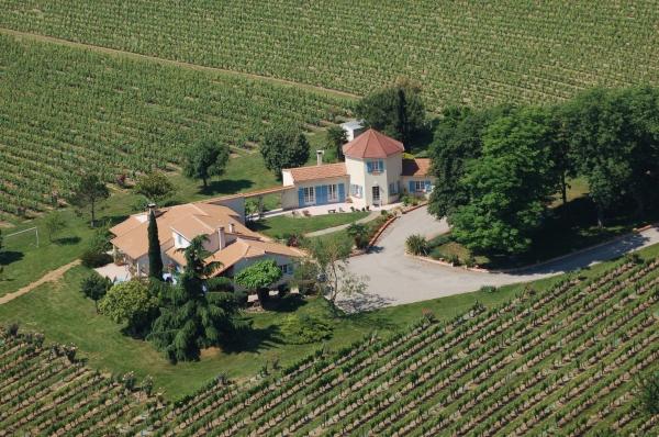 Vue aérienne du Domaine de Michelet - Location de vacances - Buzet-sur-Baïse