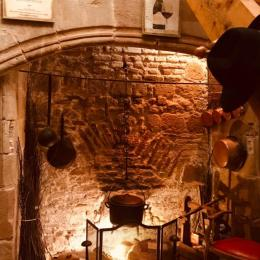 La cheminée du 14è siècle - Location de vacances - Penne-d'Agenais