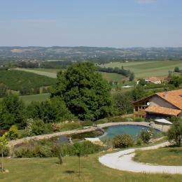 gîte, piscine et panorama - Location de vacances - Dolmayrac